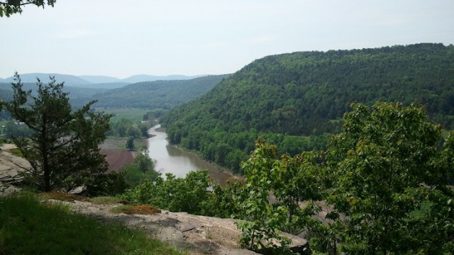 View from Pratts Rock NY
