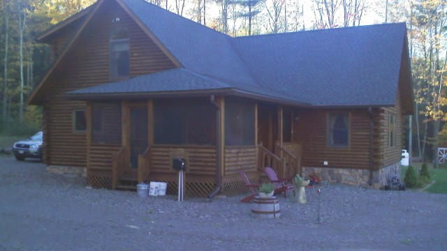 Extended Family's House in the Catskills